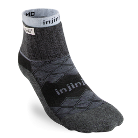 Injinji Men's Liner + Runner Mini-Crew